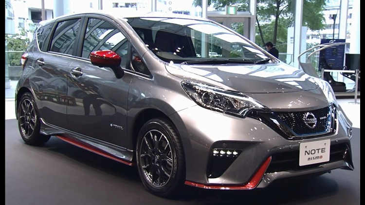 2018 Nissan Note front view