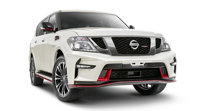 Nissan Patrol Nismo front view
