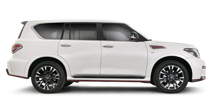 Nissan Patrol Nismo side view