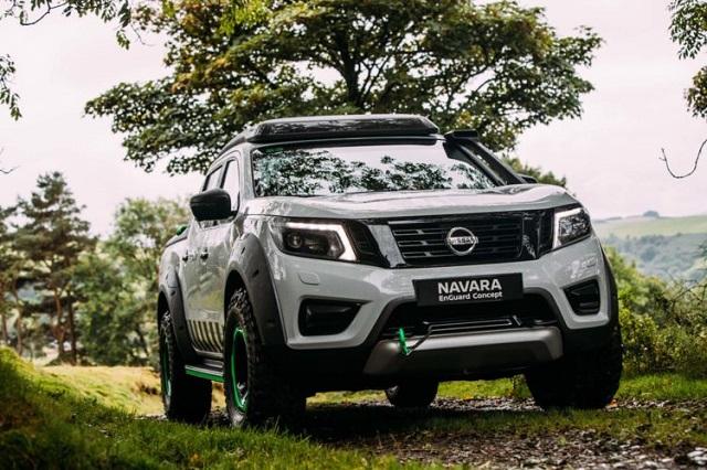 2019 Nissan Navara drive