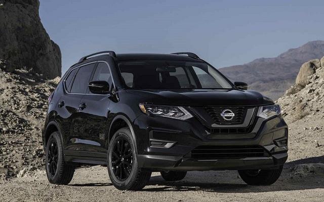 2019 Nissan Rogue black