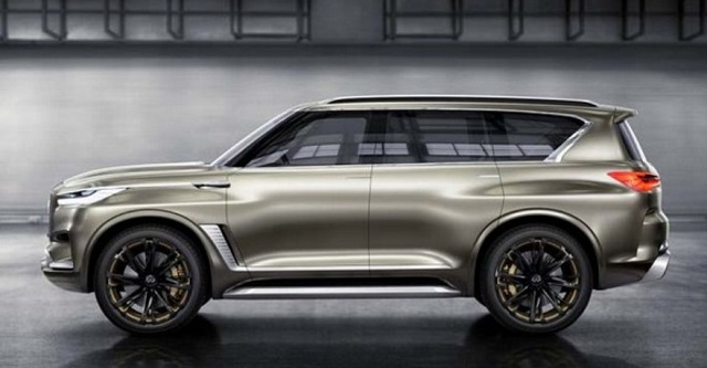 2019 infiniti qx80 side view