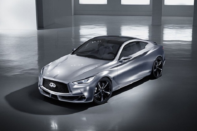 2019 Infiniti Q60 front view