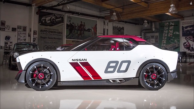 2019 nissan idx side view