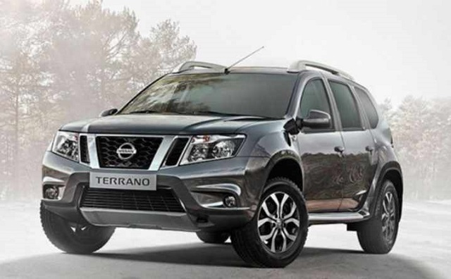 2019 nissan terrano front view