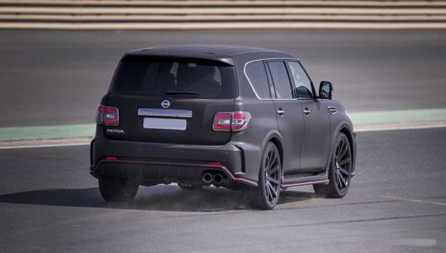 2019 Nissan Patrol rear view