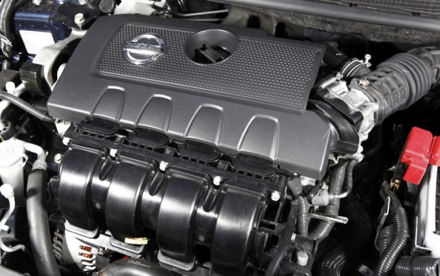 2019 Nissan Pulsar engine