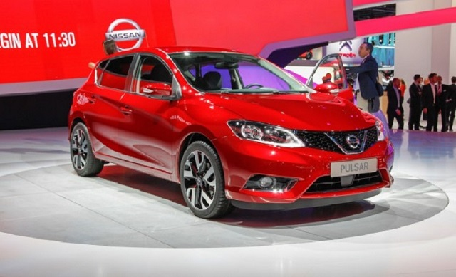 2019 Nissan Pulsar front view