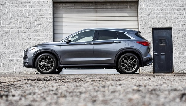 2019 infiniti qx50 side view
