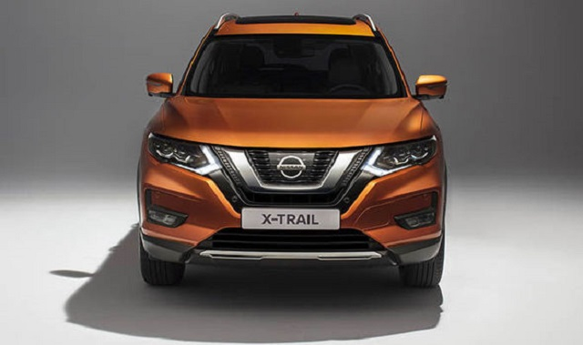 2019 nissan x trail front view