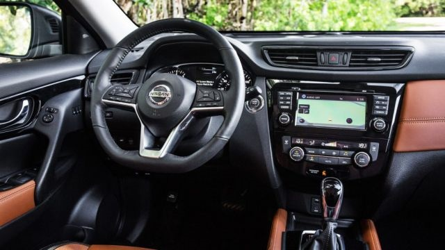 2019 nissan x trail interior