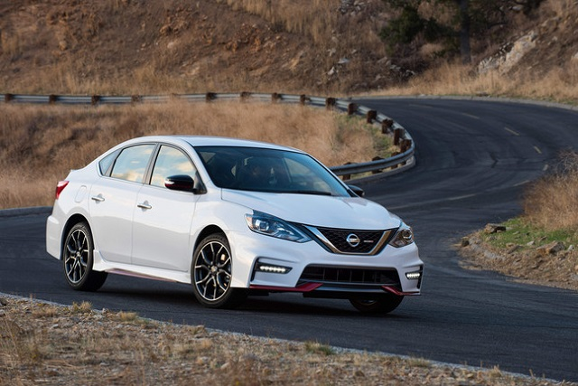 2019 Nissan Sentra Nismo front view