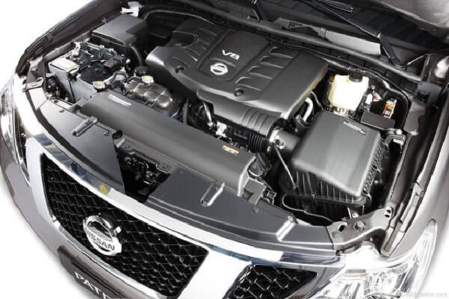 2020 Nissan Patrol engine