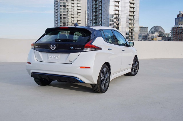 Nissan Leaf rear