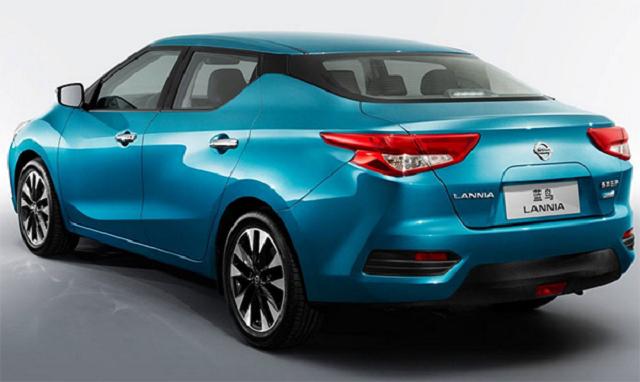 Nissan Lannia rear