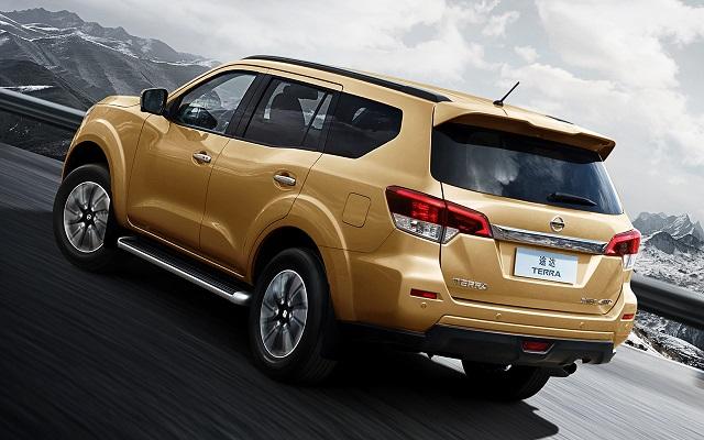 Nissan Xterra rear