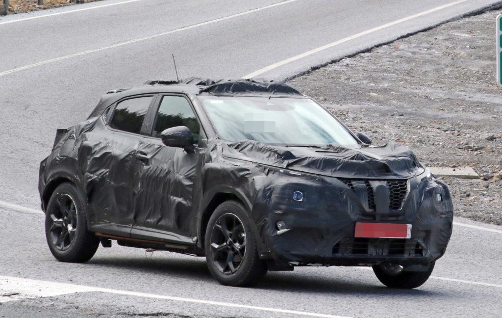 2020 Nissan Juke Nismo test mule