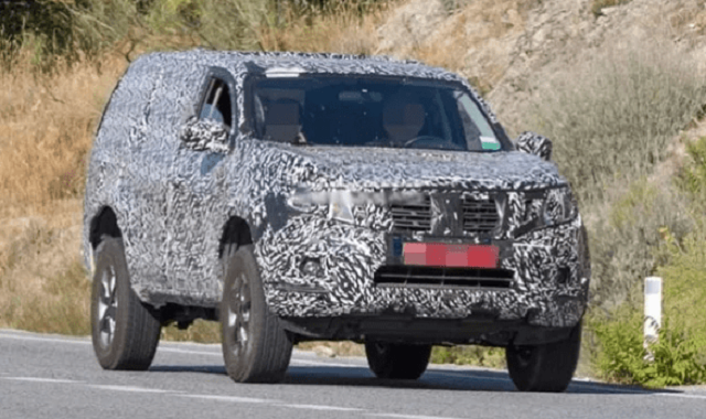 2021 Nissan Pathfinder Spy Shot