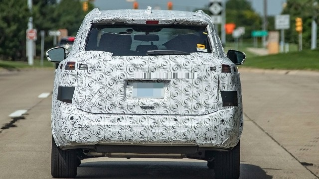 2021 Nissan Rogue Spy Shot Rear