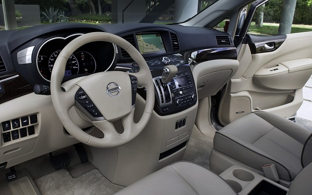 2021 Nissan Quest interior